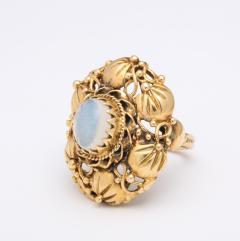 Art nouveau moonstone ring - 1747973