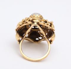Art nouveau moonstone ring - 1747975