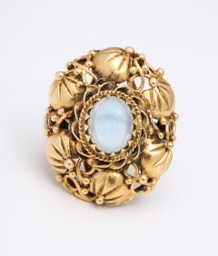 Art nouveau moonstone ring - 1747976