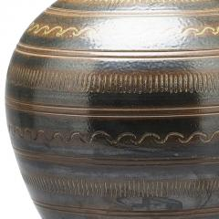 Arthur Andersson Monumental Vase with Carved Ornaments by Arthur Andersson for Wall kra - 1084446