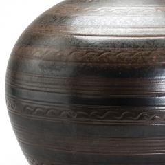Arthur Andersson Monumental Vase with Carved Ornaments by Arthur Andersson for Wall kra - 1084448
