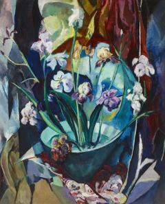 Arthur Beecher Carles Still Life with Irises - 366546