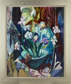 Arthur Beecher Carles Still Life with Irises - 366547