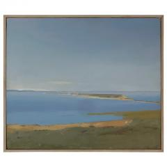 Arthur Cohen Arthur Cohen Oil on Canvas Sandy Hook from Twin Lights 1987 - 1920487