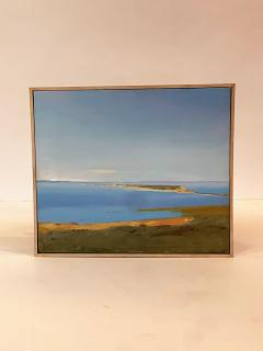 Arthur Cohen Arthur Cohen Oil on Canvas Sandy Hook from Twin Lights 1987 - 1920488