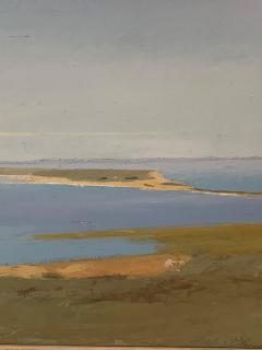 Arthur Cohen Arthur Cohen Oil on Canvas Sandy Hook from Twin Lights 1987 - 1920490