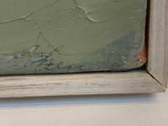 Arthur Cohen Arthur Cohen Oil on Canvas Sandy Hook from Twin Lights 1987 - 1920493