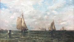 Arthur Quartley Coming Into Harbor Long Island New York - 1192883