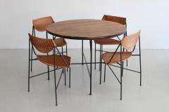 Arthur Umanoff ARTHUR UMANOFF DINING TABLE AND CHAIRS - 866152