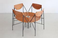 Arthur Umanoff ARTHUR UMANOFF DINING TABLE AND CHAIRS - 866155