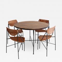 Arthur Umanoff ARTHUR UMANOFF DINING TABLE AND CHAIRS - 868717