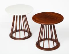Arthur Umanoff Set of Two Arthur Umanoff Side Tables for Washington Woodcraft - 1054316