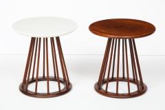 Arthur Umanoff Set of Two Arthur Umanoff Side Tables for Washington Woodcraft - 1054317