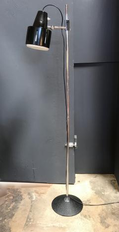 Articulating Chrome Floor Lamp Italy 1970s - 1489240