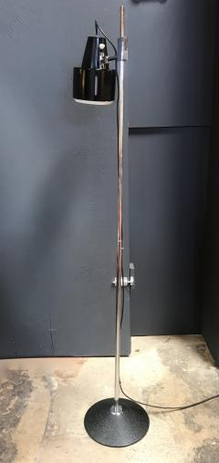 Articulating Chrome Floor Lamp Italy 1970s - 1489249