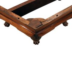 Artisan Crafted Claw Foot Table with Marble Top 19th Century - 1123105