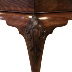 Artisan Crafted Claw Foot Table with Marble Top 19th Century - 1123106