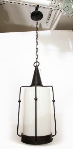Arts Crafts Bronze Lantern Pendants 1 of 3 - 1136684