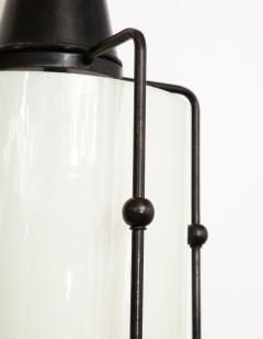 Arts Crafts Bronze Lantern Pendants 1 of 3 - 1136688