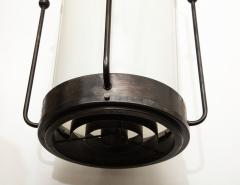 Arts Crafts Bronze Lantern Pendants 1 of 3 - 1136689