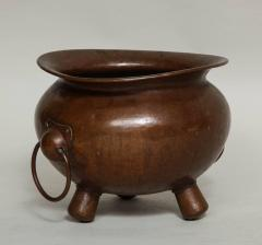 Arts Crafts Hammered Copper Vessel - 622004