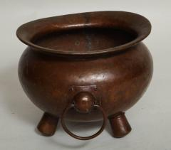 Arts Crafts Hammered Copper Vessel - 622007