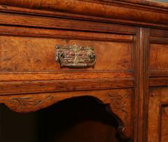 Arts Crafts Highly Figured Pollard Oak English Sideboard - 263969