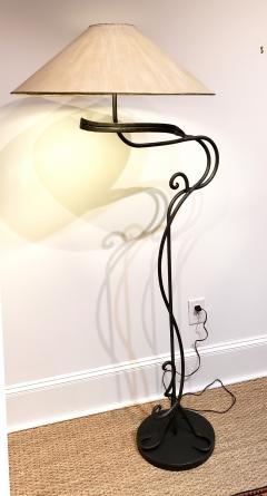 Arts and Crafts Hand Wrought Iron Floor Lamp - 1758840