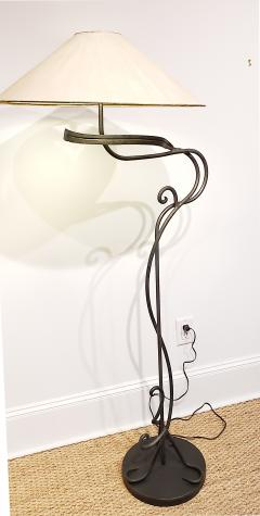 Arts and Crafts Hand Wrought Iron Floor Lamp - 1758842