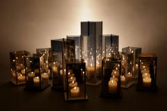 Arturo Erbsman Original 12 Candleholders Set Kaleido Arturo Erbsman - 760048