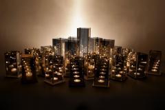Arturo Erbsman Original 20 Candleholders Set Kaleido Arturo Erbsman - 849816