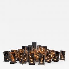 Arturo Erbsman Original 20 Candleholders Set Kaleido Arturo Erbsman - 850473