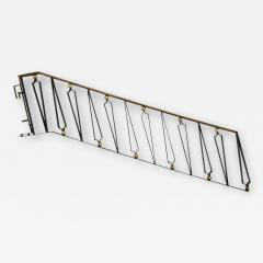 Arturo Pani Mexican Modernist Iron Staircase Handrail by Talleres Chacon for Arturo Pani - 1447030