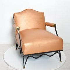 Arturo Pani Mexican Modernist Pair of Arm Chairs Attr Arturo Pani French Neoclassical - 1192621