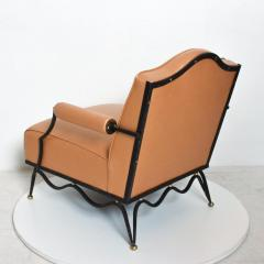 Arturo Pani Mexican Modernist Pair of Arm Chairs Attr Arturo Pani French Neoclassical - 1192623