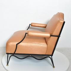 Arturo Pani Mexican Modernist Pair of Arm Chairs Attr Arturo Pani French Neoclassical - 1192624