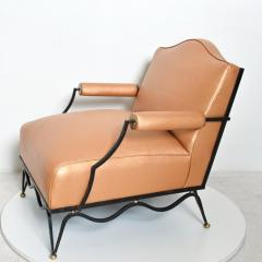 Arturo Pani Mexican Modernist Pair of Arm Chairs Attr Arturo Pani French Neoclassical - 1192625
