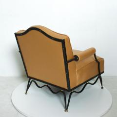 Arturo Pani Mexican Modernist Pair of Arm Chairs Attr Arturo Pani French Neoclassical - 1192626