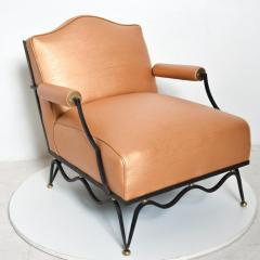 Arturo Pani Mexican Modernist Pair of Arm Chairs Attr Arturo Pani French Neoclassical - 1192629
