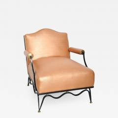 Arturo Pani Mexican Modernist Pair of Arm Chairs Attr Arturo Pani French Neoclassical - 1193793