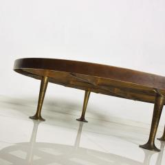 Arturo Pani Mid Century Mexican Modernist Arturo Pani Coffee Table in Bronze - 1247637