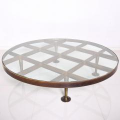 Arturo Pani Mid Century Mexican Modernist Arturo Pani Coffee Table in Bronze - 1247638