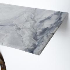 Arturo Pani Neoclassical Mexican Modernist French Iron Marble Wall Console Attr Arturo Pani - 1180950