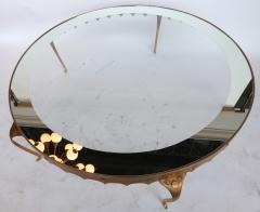 Arturo Pani Scalloped Edge 1950s Brass Coffee Table Attributed to Arturo Pani - 328088