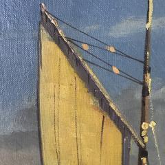 Arup Jensen Jensen 1906 1956 Danish Harbor W Sailing 1940s - 1834159