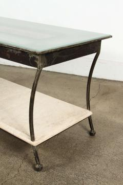 Asian Architectural Relief Made into a Coffee Table - 338818