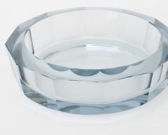 Asta Stromberg DIAMOND CUT GLASS DISH BY STR MBERG SWEDEN DESIGNED BY ASTE STROMBERG CIRCA 1950 - 1984799