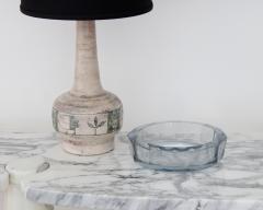 Asta Stromberg DIAMOND CUT GLASS DISH BY STR MBERG SWEDEN DESIGNED BY ASTE STROMBERG CIRCA 1950 - 1984804