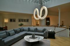 Atelier Alain Ellouz Infinity Alabaster Chandelier by Atelier Alain Ellouz - 1720484