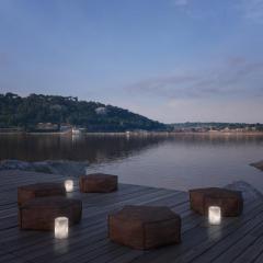 Atelier Alain Ellouz Lyra Alabaster Table Lamp by Atelier Alain Ellouz - 1692866